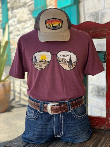 Wine Sunset T-shirt - Blair's Western Wear Marble Falls, TX