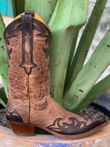Ladies Handmade Western Wingtip Rod Patrick Boot - 13731