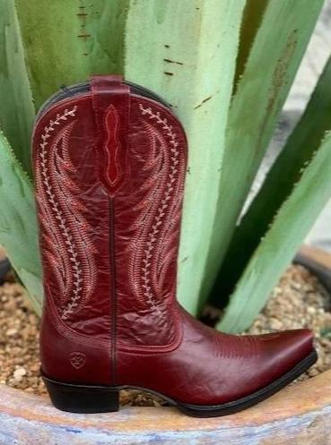 Ariat Women's Red Western Cowgirl Boot - 10029677