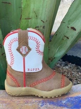 Roper Infant Baseball Baby Boot - 91619020083