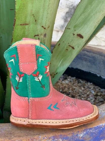 Little Cowgirl Pink Western Boots - 9167912370