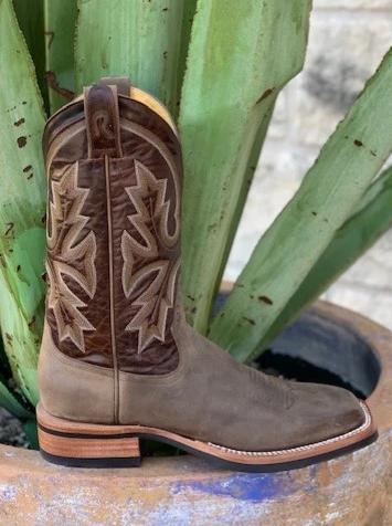 Men's Handmade cowhide roper cowboy boot by Rod Patrick - 12337