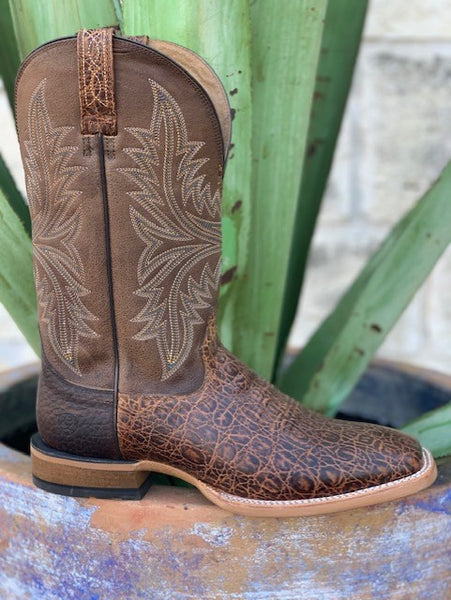 Ariat Men's Cowhand Brown Square Toe Neoprene Cowboy Boot - 10017381