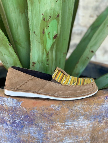 Ariat Women's Slip On Mustard Serape Cruiser - 10027353