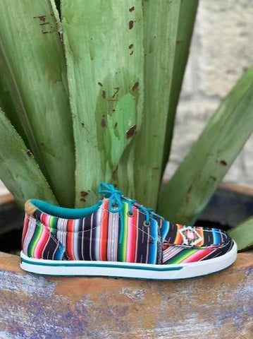Twisted X Women's Serape Moccasins Tennis Shoe - WHYC008