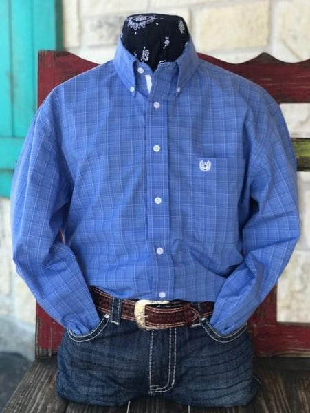 men's panhandle slim cowboy western dress shirt