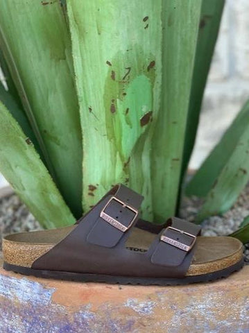 Men's Arizona Chocolate Brown Birkenstock - 5170