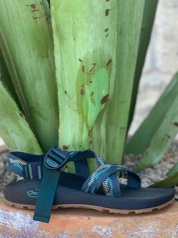 Men's Chaco Sandal Classic Z1 single teal strap