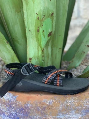 Men's Classic Z1 Chaco Sandal single colorful Black, Gray & Ruststrap - J105493