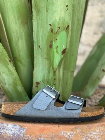 Ladies Arizona Birkenstock Gray Sandal 1014285