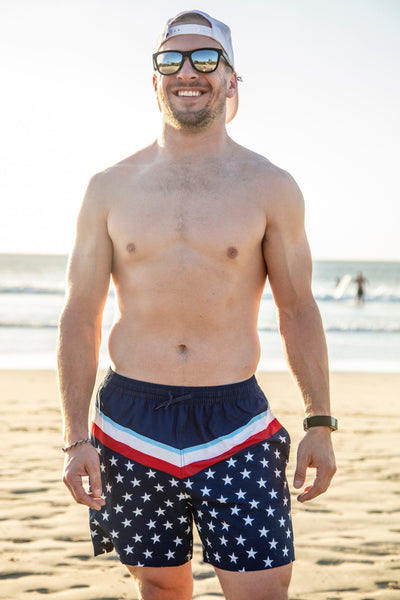 Swim Trunks - PATRIOTIC