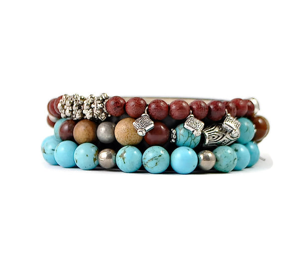 Bear Claw Bracelet Stack