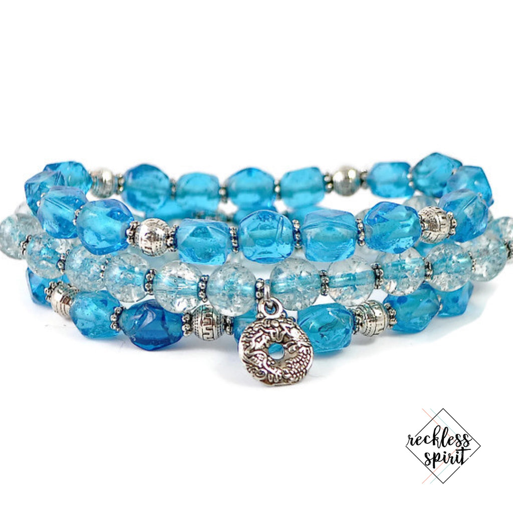 Poolside Bay Bracelet Stack