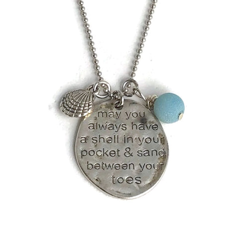 May You Always Have a Shell in Your Pocket Necklace