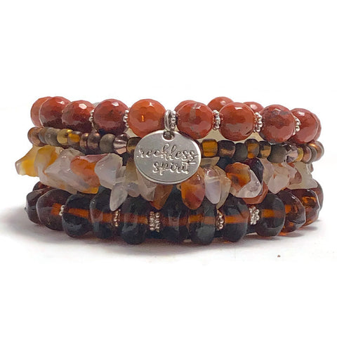 Brown Sugar Bracelet Stack One-of-a-Kind