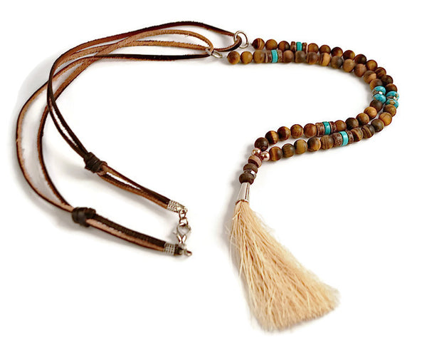Bohemian Renegade Tassel Necklace