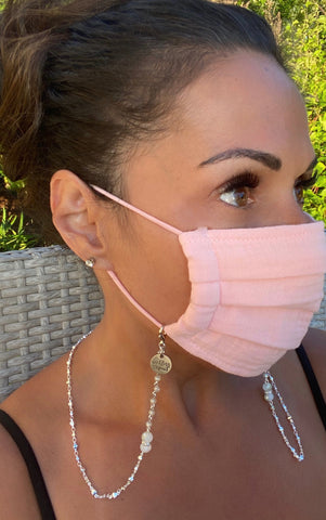 Chantilly Lace Chain Mask Holder Lanyard