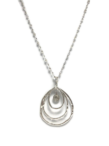 Rings of Tranquility Pendant Necklace