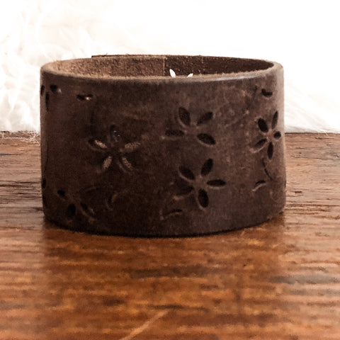 Woodland Hills Leather Cuff Bracelet