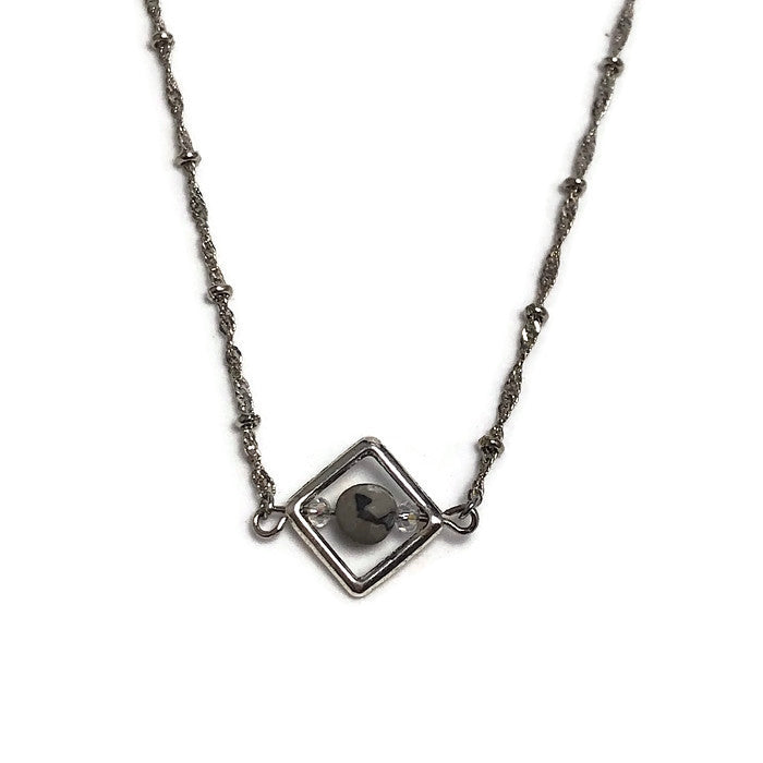 Petite Picasso Jasper Layering Necklace