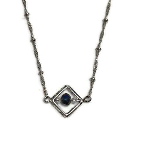 Sparkling Crystal Layering Necklace