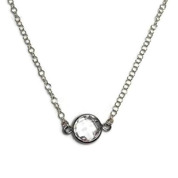Dainty Crystal Layering Necklace