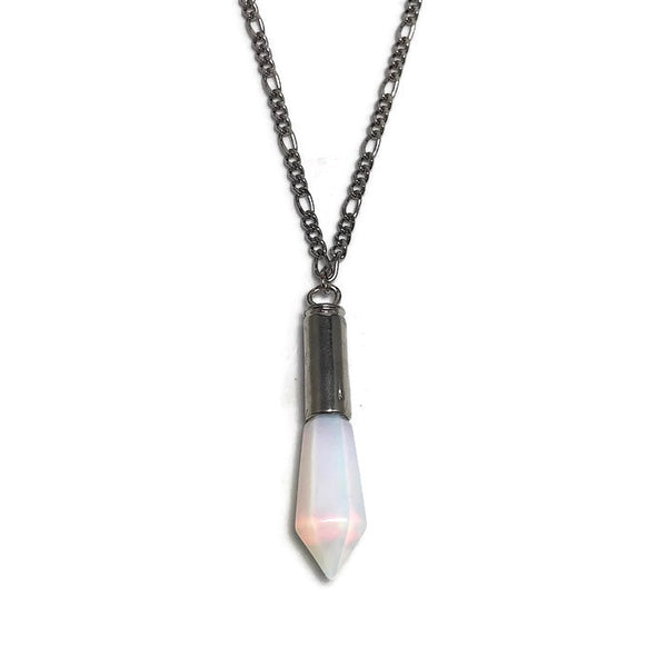 Crystal Bullet Layering Necklace