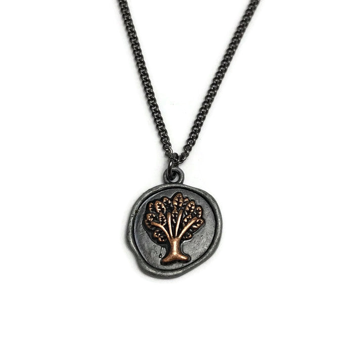 Tree of Life Layering Necklace