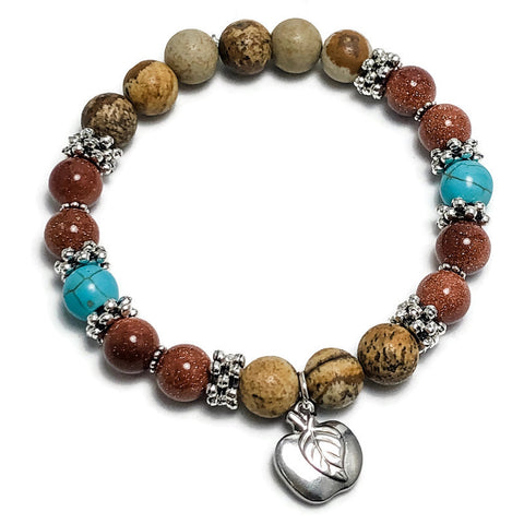 Create Your Own - Teacher Appreciation Beaded Stretch Bracelet