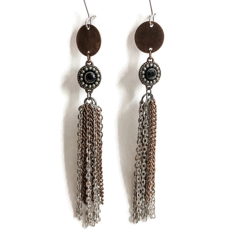 Desert Edge Dangle Earrings One-of-a-Kind