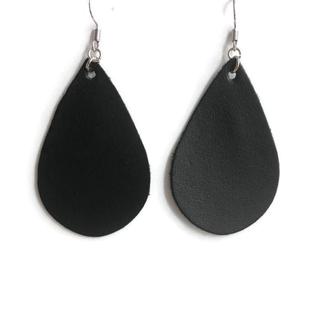 Wisteria Way Leather Dangle Earrings