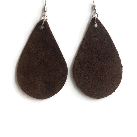 Sweetwater Leather Dangle Earrings