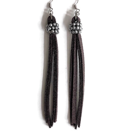 Dark Horse Dangle Earrings
