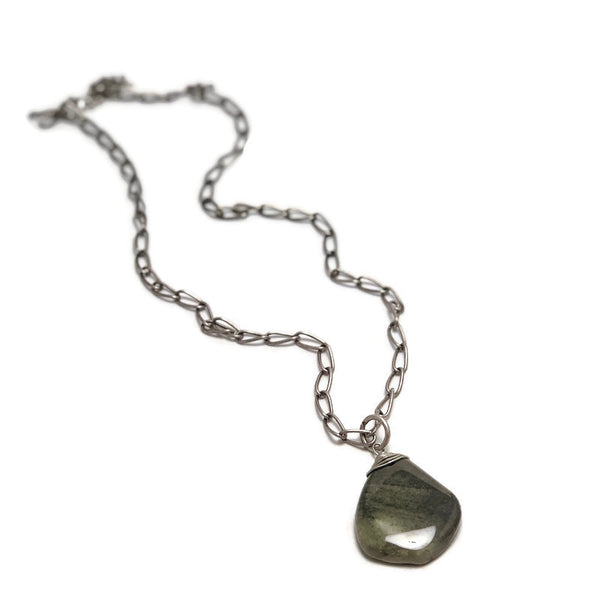 Rock Solid Agate Necklace