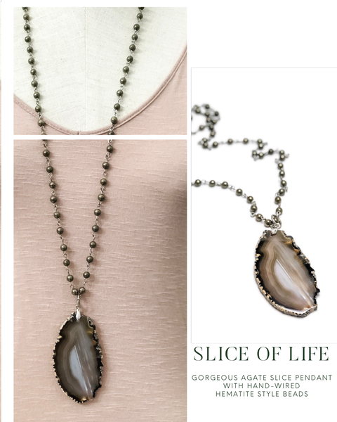 Agate Nights Necklace