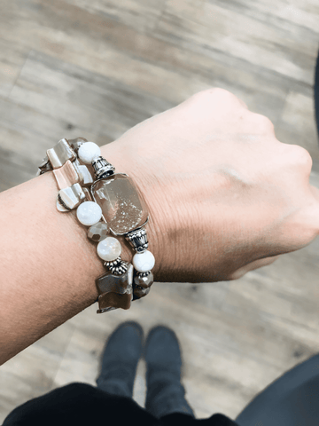 Caramel Crush Bracelet Stack