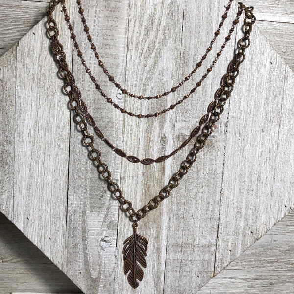 Rustica Layered Necklace One-Of-A-Kind