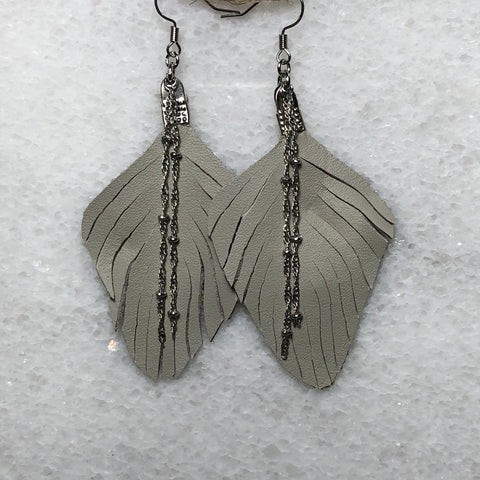 Saddle Up Leather Fringe Earrings
