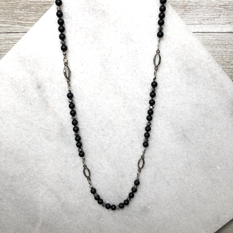 Simply Shaded Vintage Spacer Necklace One-Of-A-Kind