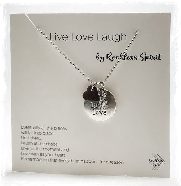 Live Laugh Love Necklace