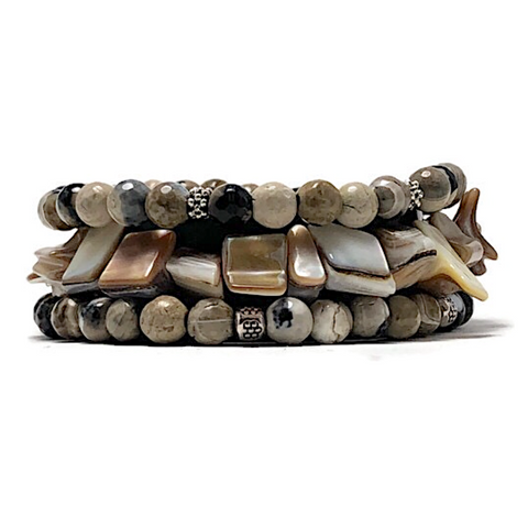 Shore Thing Bracelet Stack