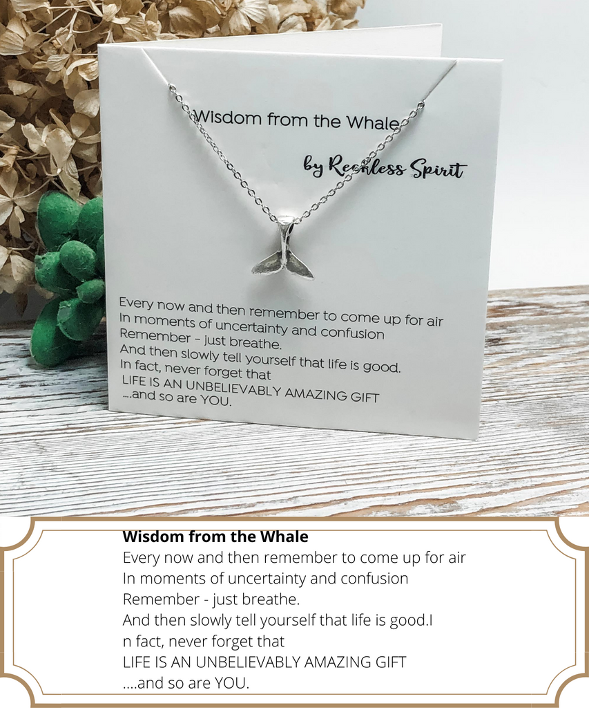 Wisdom From The Whale Necklace