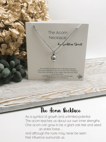 The Acorn Necklace