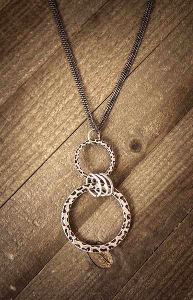 Circles of Peace Pendant Necklace