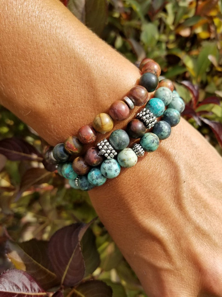 Earth Day Bracelet Stack