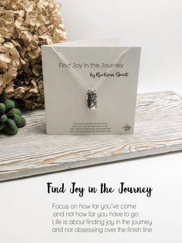 Find Joy in the Journey Necklace