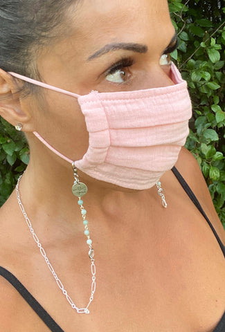 Cool Breeze Chain Mask Holder Lanyard