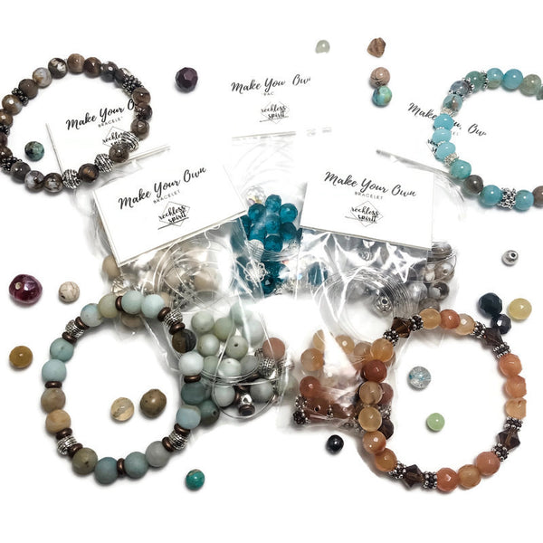 Create Your Own Gemstones Collection - Hot Cocoa Beaded Stretch Bracelet