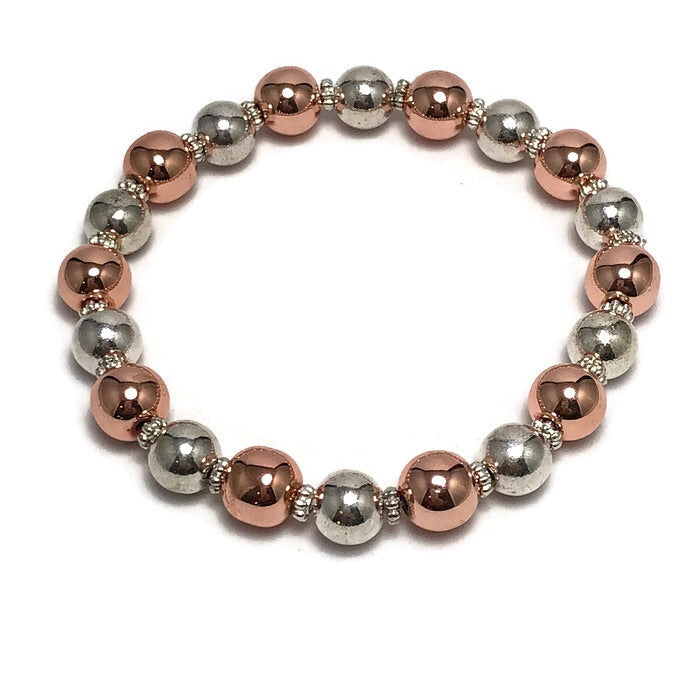 Metallic Magic Womens Stretch Bracelet