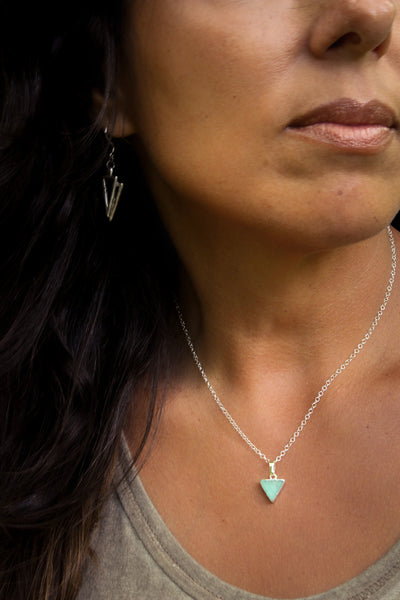 Angled Amazonite Necklace